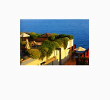 Sea view Balcony on the French Riviera at Sunset T-Shirt