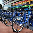 Bike share scheme by Robyn Lakeman