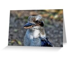 Kookaburra at Sherbrooke Forest Greeting Card