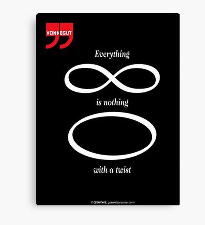 Vonnegut's Quotation Canvas Print