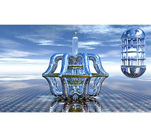 Light Bender - Metaball Sculpture Photographic Print