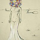 head-o-flowers by eleveneleven