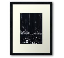 San Francisco Nightdrive Framed Print