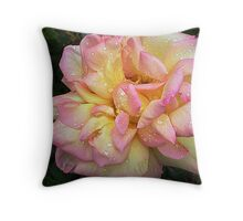 Peace - full bloom Throw Pillow