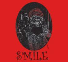 Smile Skeletee by Pete Janes