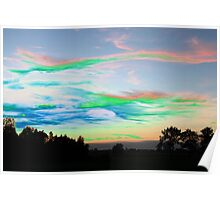 Sunset in July Poster