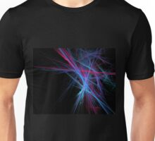 Dreamy blazing colorful lines Unisex T-Shirt