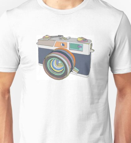 Vintage old photo camera Unisex T-Shirt