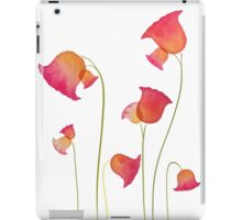 Pink and yellow watercolours iPad Case/Skin