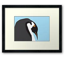 Big Penguin Framed Print