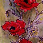 Poppies 3 by Angela Gannicott