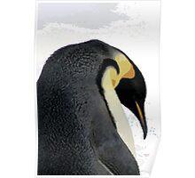 Frosty Penguin Poster