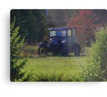 Woodland Cruiser Metal Print