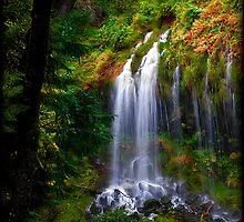 Mossbrae Falls - Dunsmuir, CA by PhotoCreativity