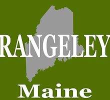 Rangeley Maine State City and Town Pride  by KWJphotoart