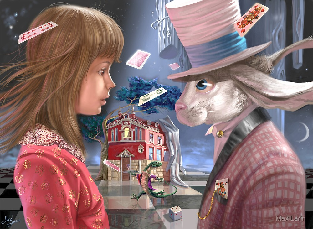 Alice and Rabbit by Max Larin