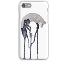 Jumping Fox No.1 iPhone Case/Skin