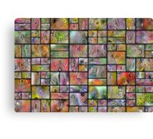 Marble Chicklets Canvas Print
