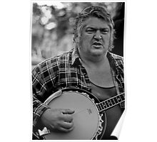 Banjo-man - aka MarkyB Poster