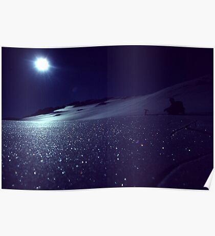 Moonscape on Annette Plateau  Poster