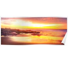 Reflections-Great Lakes NSW Poster