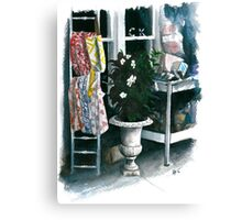 Sidewalk Sale Canvas Print