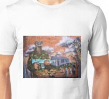 Graffiti - Bakery Lane Brisbane Unisex T-Shirt