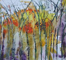 Late winter trees by Caroline Maddison