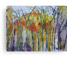 Late winter trees Canvas Print