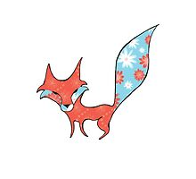 Fun and Whimsical Fox by AnimalCharm