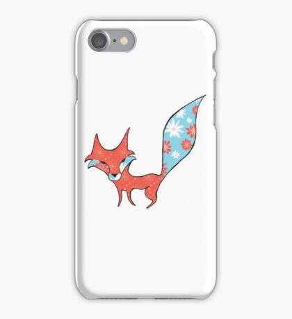 Fun and Whimsical Fox iPhone Case/Skin