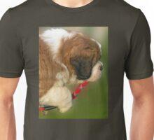Saint Bernard puppie of three months Unisex T-Shirt