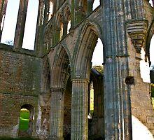 Rievaulx Arches by Trevor Kersley