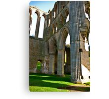 Rievaulx Arches Canvas Print