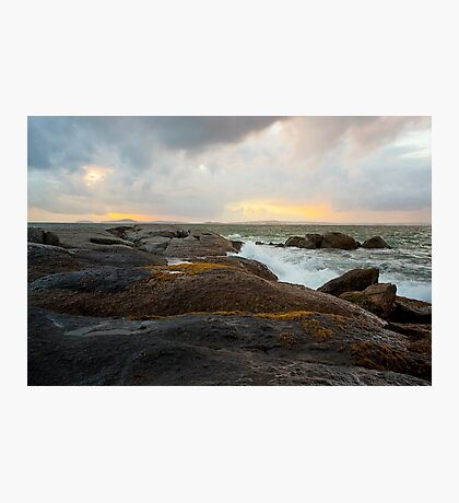 Sea Sky Sunset Photographic Print