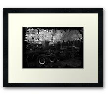 Tractors at the Fair Framed Print