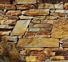 Stone wall by Atanas Bozhikov NASKO