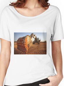 Mining digger Women's Relaxed Fit T-Shirt