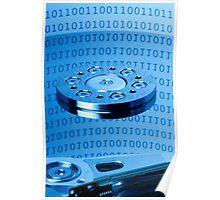 computer hard drive Poster