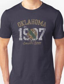Vintage Oklahoma Sooner State Unisex T-Shirt