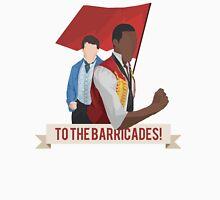 To the Barricades! - Minimalist Enjolras & Marius Unisex T-Shirt