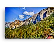 Tunnel view Yosemite, California, united states Canvas Print
