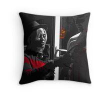 Slash! Throw Pillow