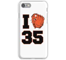 I Glove 35 iPhone Case/Skin