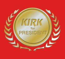 Kirk for President Baby Tee