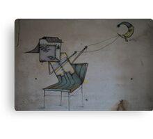 Make my dream come true - Graffiti (~ autor unknown) . Brown Sugar Storybook. Canvas Print