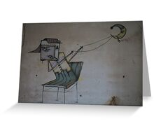 Make my dream come true - Graffiti (~ autor unknown) . Brown Sugar Storybook. Greeting Card