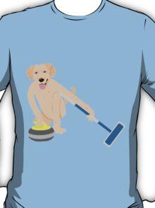 Golden Retriever Curling T-Shirt