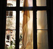 The white Curtain........... by Imi Koetz