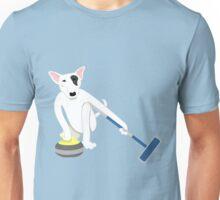 English Bull Terrier Curling Unisex T-Shirt